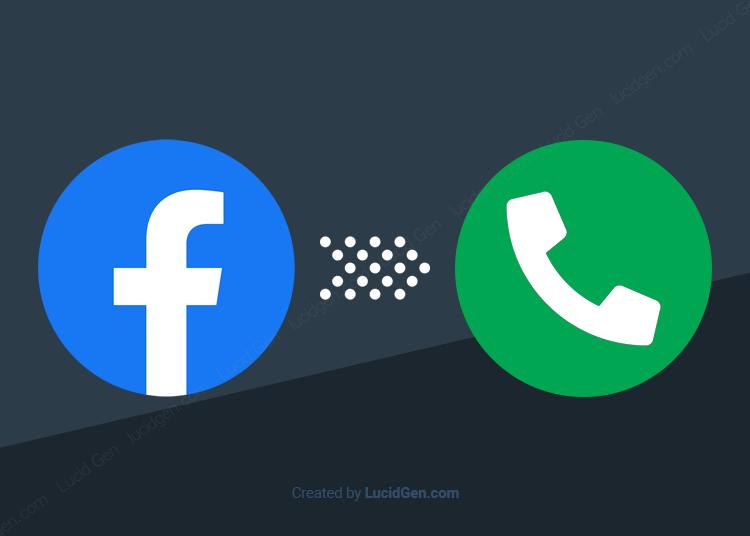Lấy số điện thoại từ Facebook chỉ 2 giây