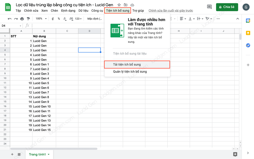 How to find duplicates in Google Sheets with Chrome extension