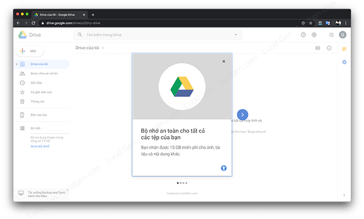 Google Drive sign-in guide