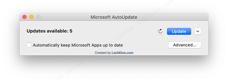 How to turn off Microsoft AutoUpdate