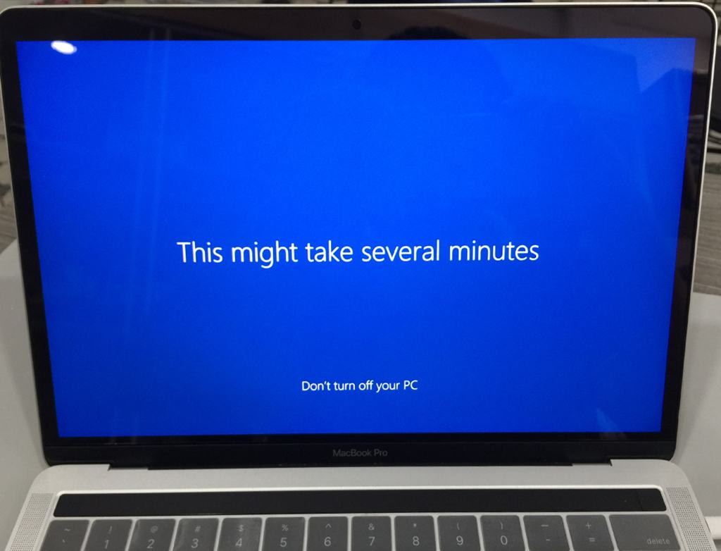 Install Win 10 for Macbook Pro and Air. Start on Win 10 to use