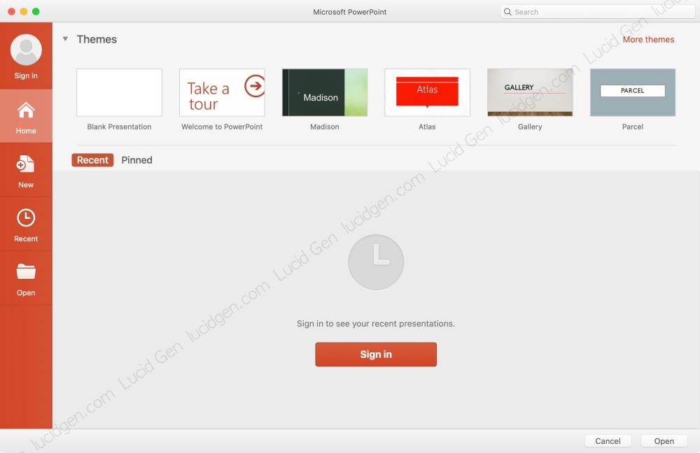 Cài Office cho trên Mac Macbook - Cài PowerPoint cho Macbook thành công
