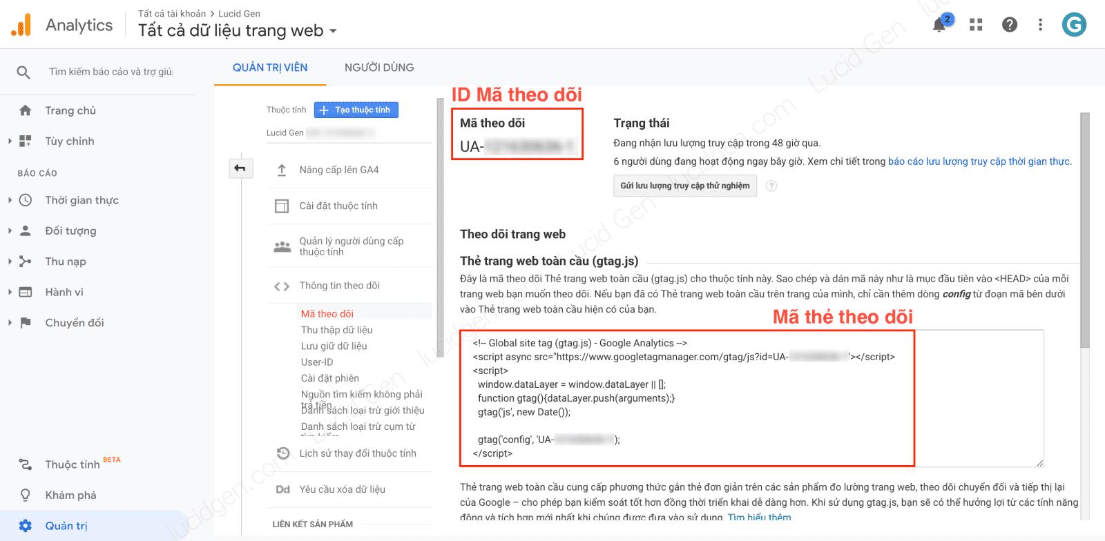 How to add Google Analytics to website Universal - Get the old version Google Analytics code