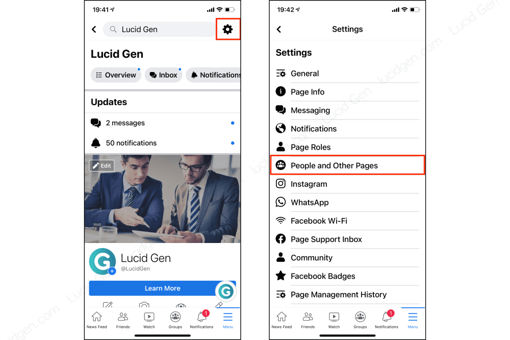 How to see who liked your Facebook page on mobile